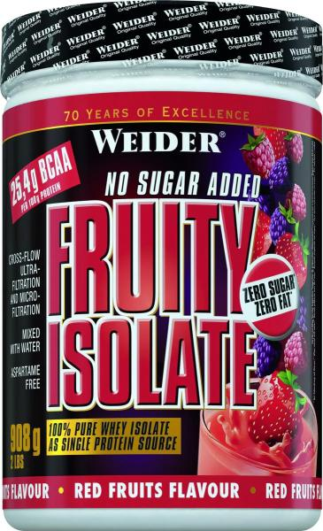 Joe Weider Fruity Isolate, 908 g Dose, Rote Früchte