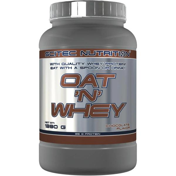 Scitec Nutrition Oat 'n' Whey, 1380 g Dose