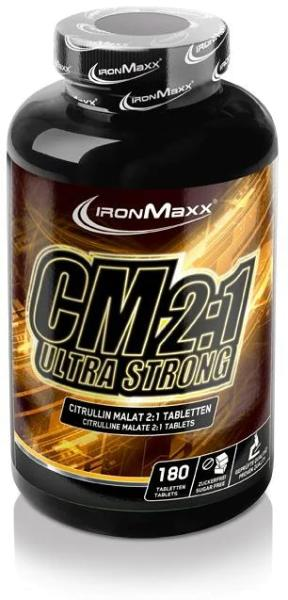 IronMaxx CM 2:1 Ultra Strong - Citrullin Malat, 180 Tabletten