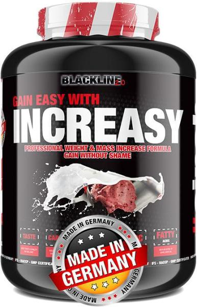 Blackline 2.0 Increasy Weight Gainer, 3500 g Dose