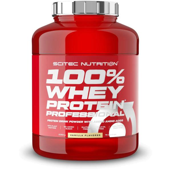 Scitec Nutrition 100% Whey Protein Professional Redesign, 2350 g Dose
