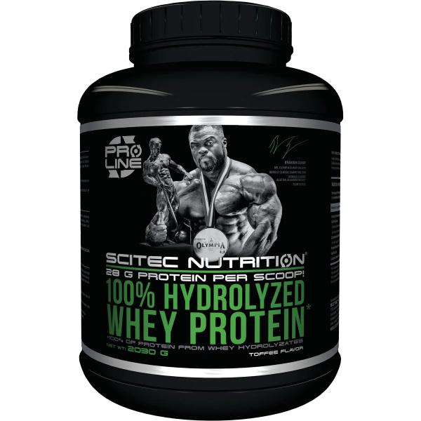 Scitec Nutrition 100 % Hydrolyzed Whey Protein, 2030 g Dose