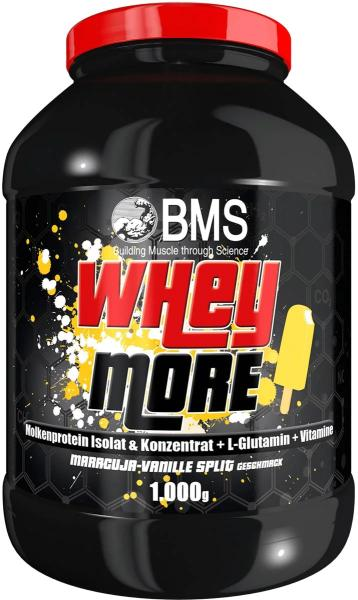 BMS Whey More, 1000 g Dose