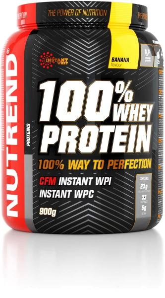 Nutrend 100% Whey Protein, 900 g Dose