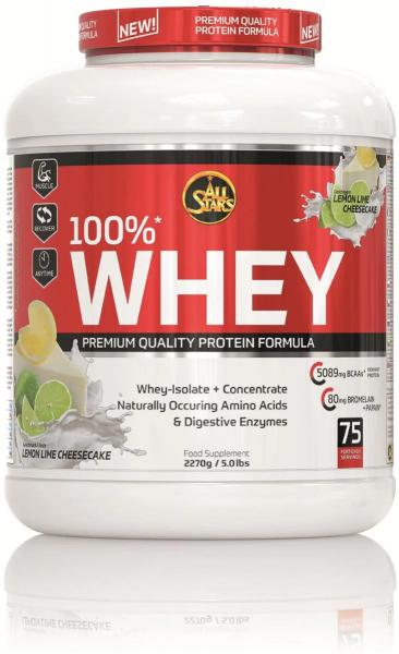 All Stars 100% Whey Protein, 2270 g Dose
